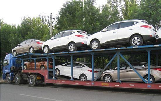 西安到南宁托运小轿车图片
