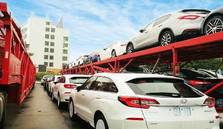 西安轿车托运到北京图