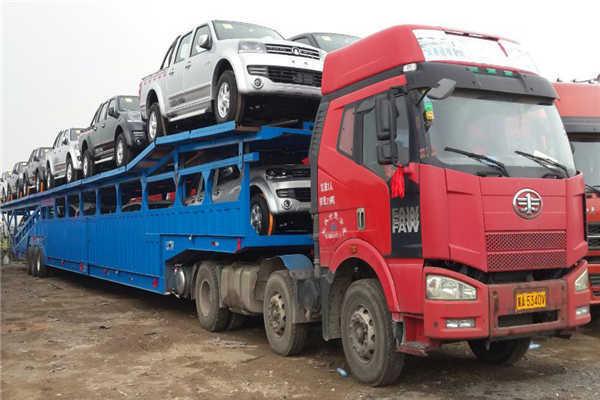 西安到长沙轿车托运公司收费标准装车现场