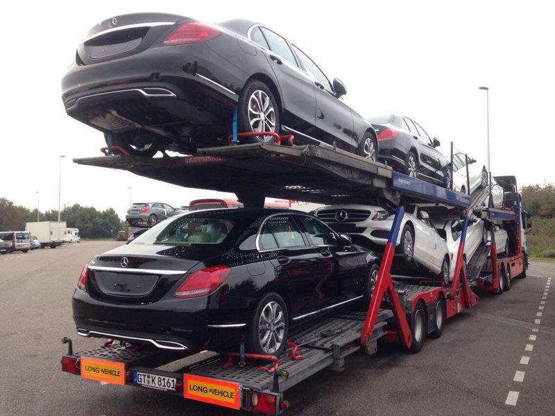 西安到深圳商品车托运公司装车流程