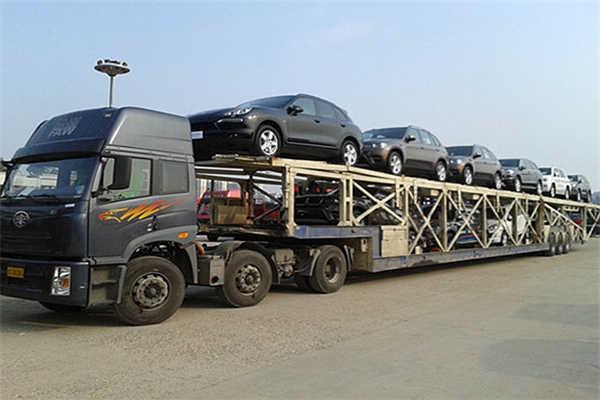 西安到绵阳商务车托运公司装车流程