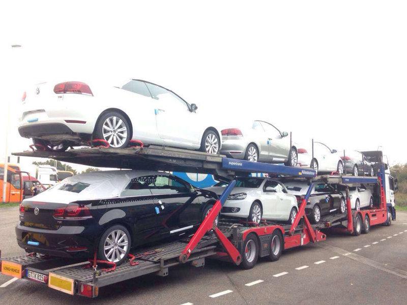 私家车托运公司装车流程