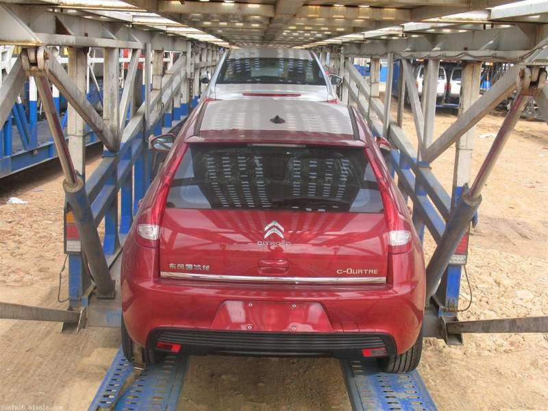 西安到上海商品车托运公司装车流程