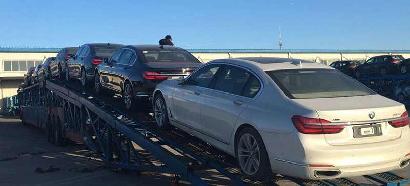 西安到桂林商品车托运公司装车流程
