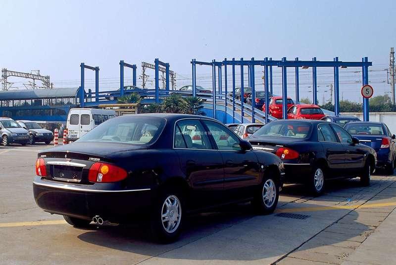 西安到大连商品车托运公司装车流程