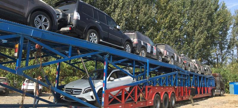 西安到沈阳商品车托运公司装车流程
