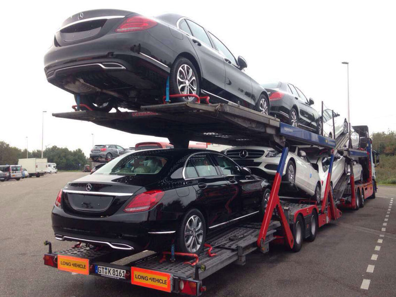西安到兰州商品车托运公司装车流程