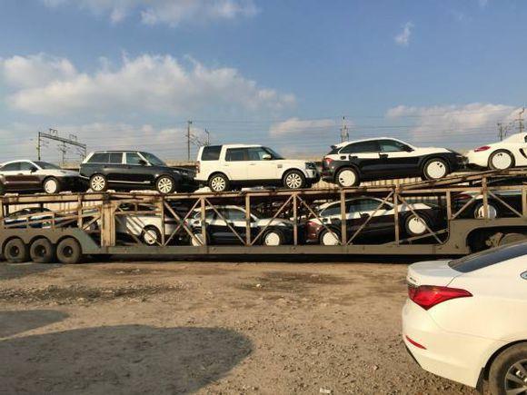 西安到西宁商品车托运公司装车流程