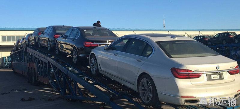 西安到合肥巡展车托运公司装车流程