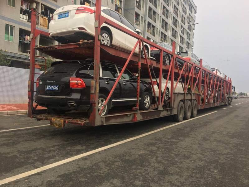 西安到北京商品车托运公司装车流程