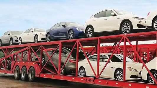 西安到惠州轿车托运案例、流程